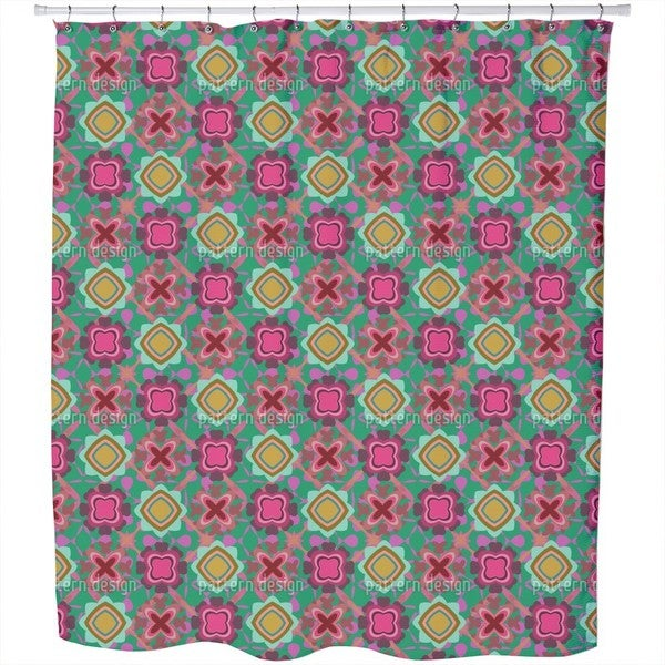 Boogie On The Flor Shower Curtain