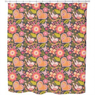 Bohemian Garden Shower Curtain