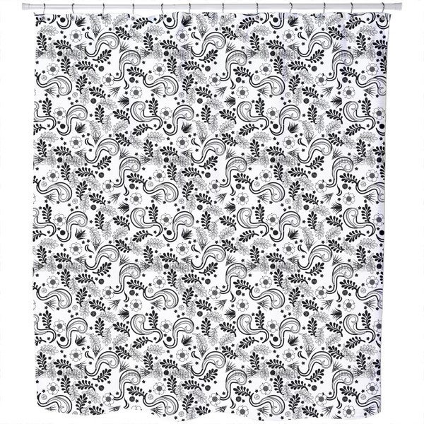 Avantgarde Floral Shower Curtain