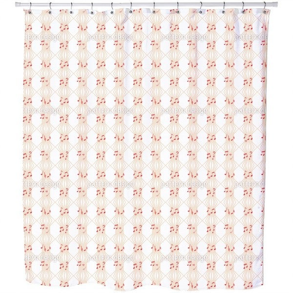 Ars Musica Shower Curtain