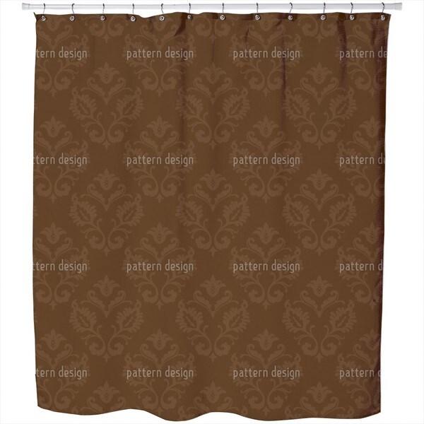 Aramis Braun Shower Curtain
