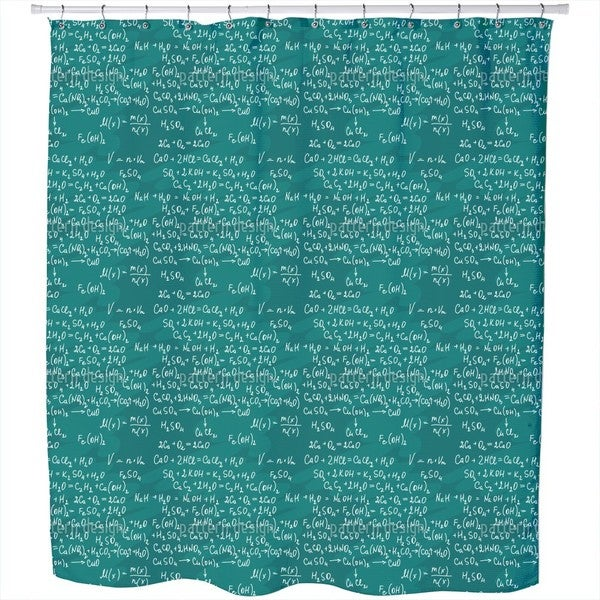 Chemical Lessons Shower Curtain
