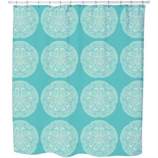 A Cool Touch of Doily Shower Curtain