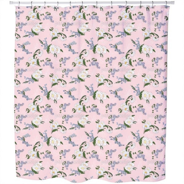 Daisies Friends Shower Curtain