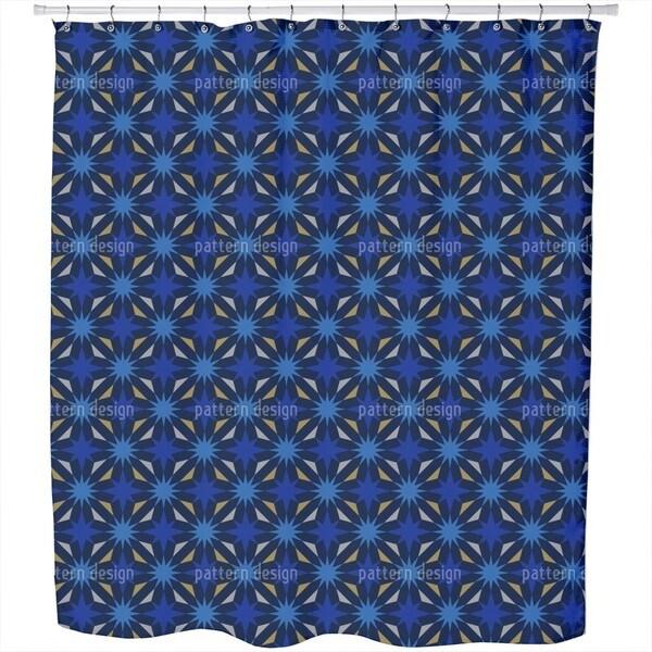 Etoiles De La Nuit Shower Curtain