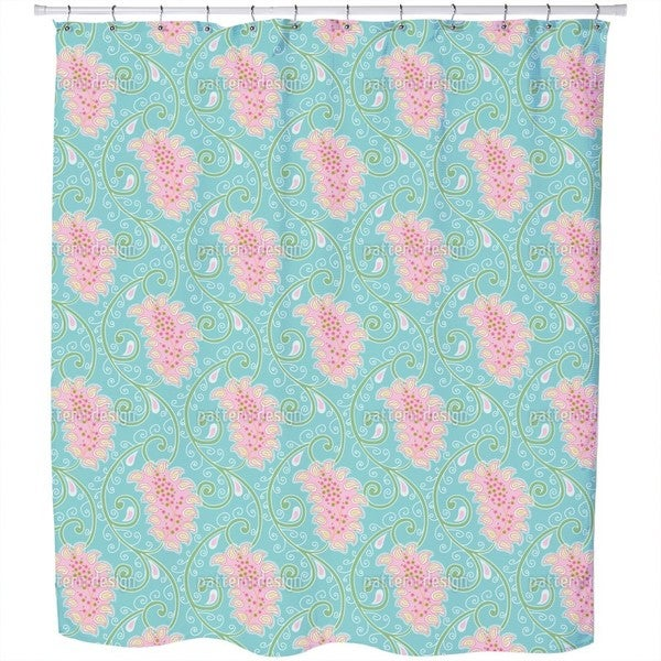 Exotic Tendrillars Shower Curtain 18018983