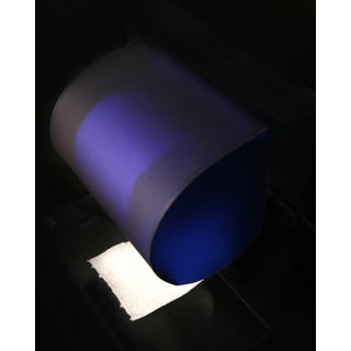 Sapphire Blue Toilet Paper Cover