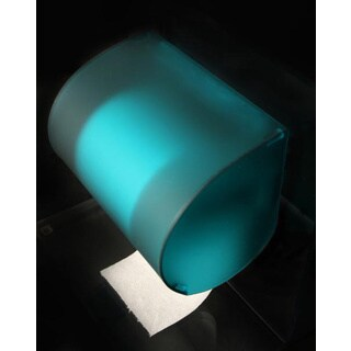 Azure Blue Toilet Paper Cover