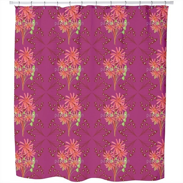 Fantasia Floral Shower Curtain