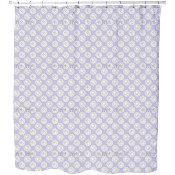 Fantasy Pit Lilacs Shower Curtain