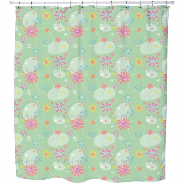Flowers Astrid Shower Curtain