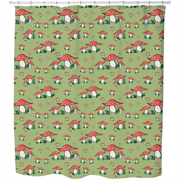 Fly Agaric Shower Curtain
