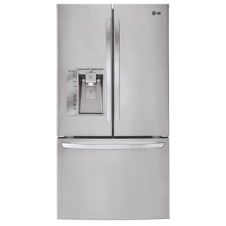LG LFXS32766S 32-cubic Foot Mega-Capacity French Door Refrigerator with Door-in-Door in Stainless Steel