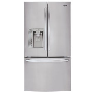 LG LFXS32726S 32-cubic Foot Mega Capacity 3-Door French Door Refrigerator in Stainless Steel