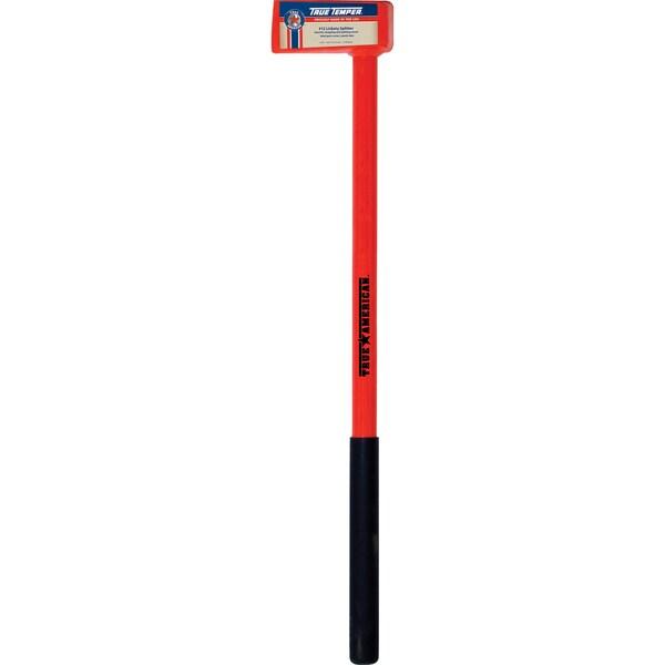 "True Temper 1113090800 34"" 12 Lb Lickety Wood Splitter With Steel Handle"