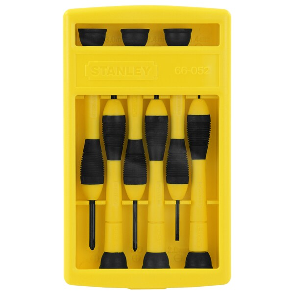 Stanley Hand Tools 66-052 6 Piece Precision Screwdriver Set