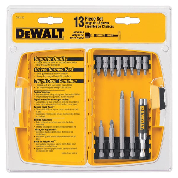 Dewalt DW2160 13 Piece Screwdriver Set