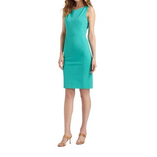 Elie Tahari Marsha Green Dress (Size 4)