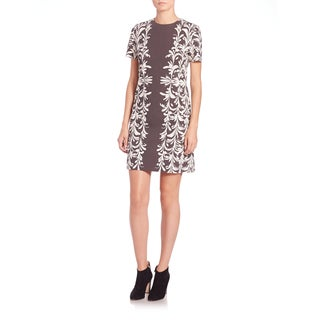 Tory Burch Gray Earl Mini Dress
