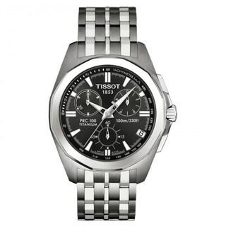 Tissot Men's T008.417.44.061.00 PRC 100 Chronograph Watch