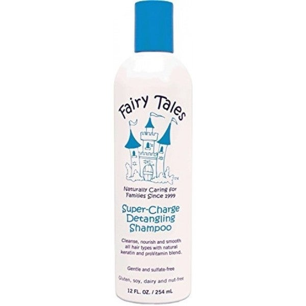 Fairy Tales Super-Charge 12-ounce Detangling Shampoo for Kids