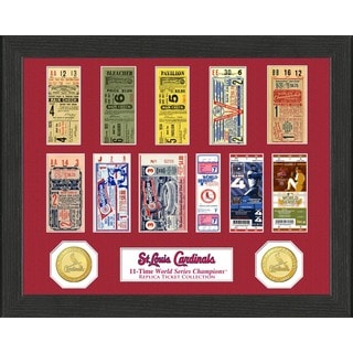 St. Louis Cardinals World Series Ticket Collection
