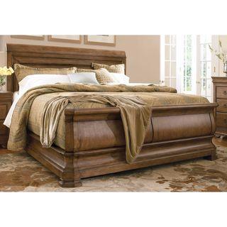 Pennsylvania House Louie P's Cognac Sleigh Bed