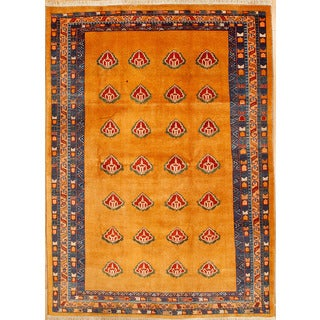 Persian Nomadic Woven Area Rug (6' 7 x 9' 2)