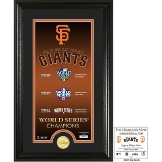 "San Francisco Giants ""Legacy"" Supreme Bronze Coin Photo Mint"