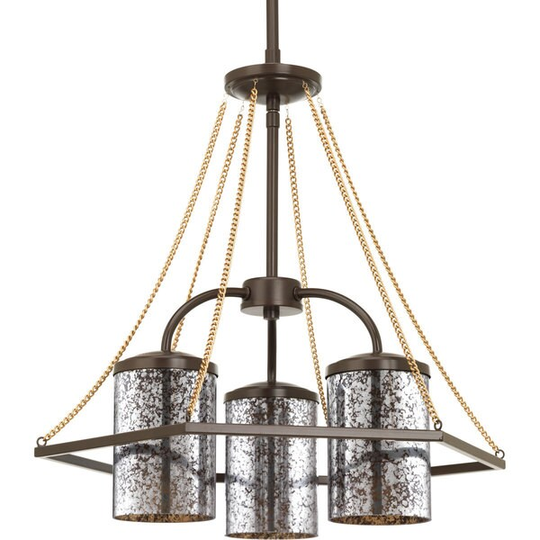 Progress Lighting P4248-134 Indi 3-light Chandelier 18023743