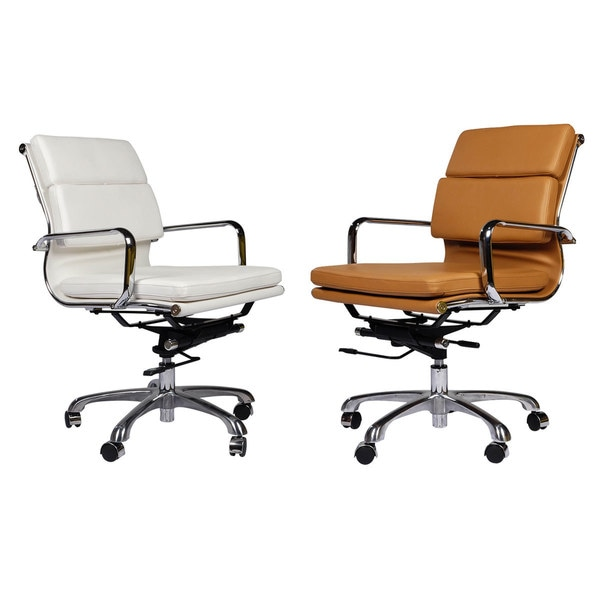 eames style executive leather office chair 18558778