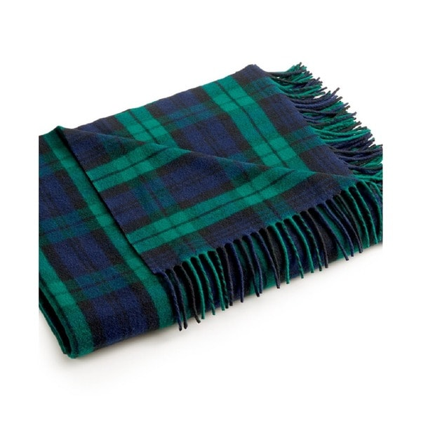 Pendleton 5th Avenue Auroral Plaid Throw Blanket