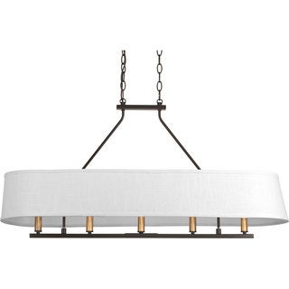 Progress Lighting P4617-20 Cherish 5-light Linear Chandelier