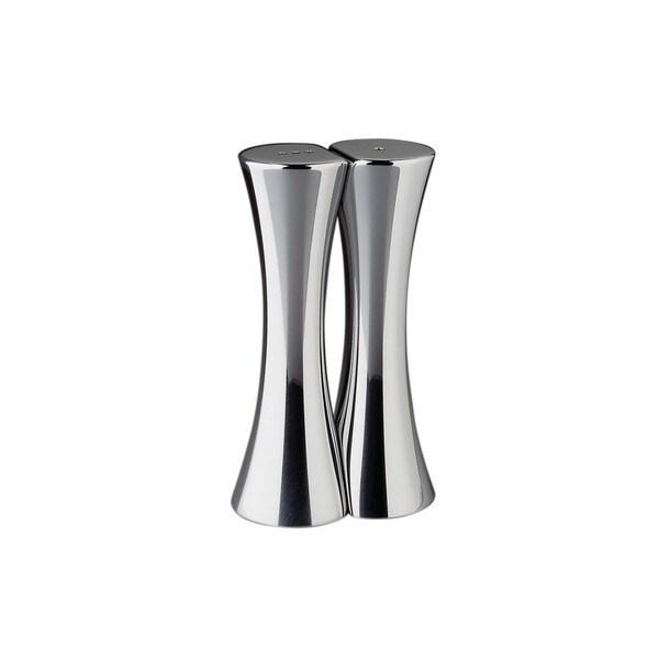Nambe Kissing Silver Salt and Pepper Shaker Set