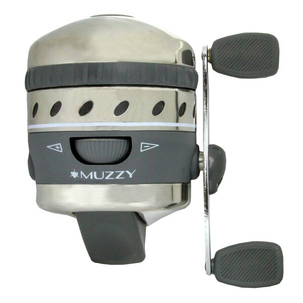 Muzzy XD Bowfishing Reel with 150-pound Line