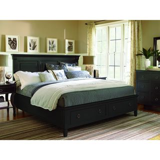 Summer Hill Complete Storage Bed in Midnight Finish
