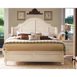 Paula Deen Home Steel Complete Magnolia Bed in Linen Finish