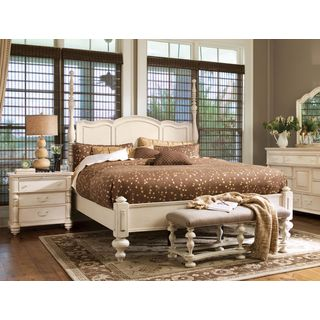 Paula Deen Home Savannah Complete Poster Bed in Linen Finish