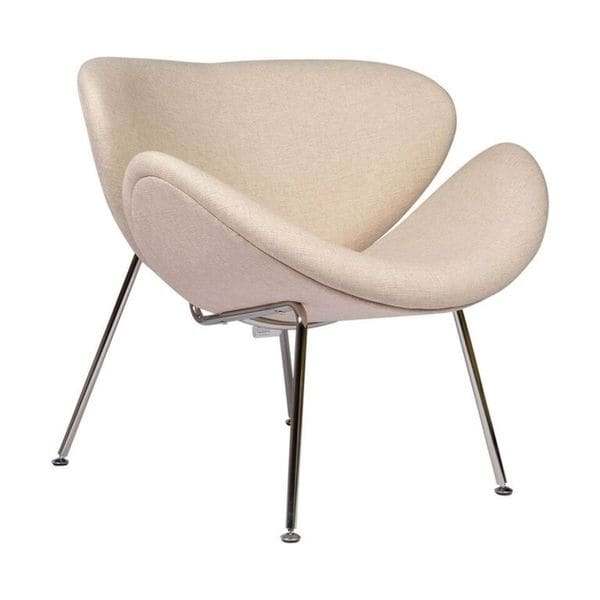 Paulin Style Slice Chair Beige