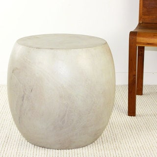 Haussmann White Oak Oil Pouf Stool (Thailand)