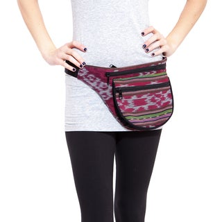 The Eco Pack II Ikat Boho Waist Pack (India)