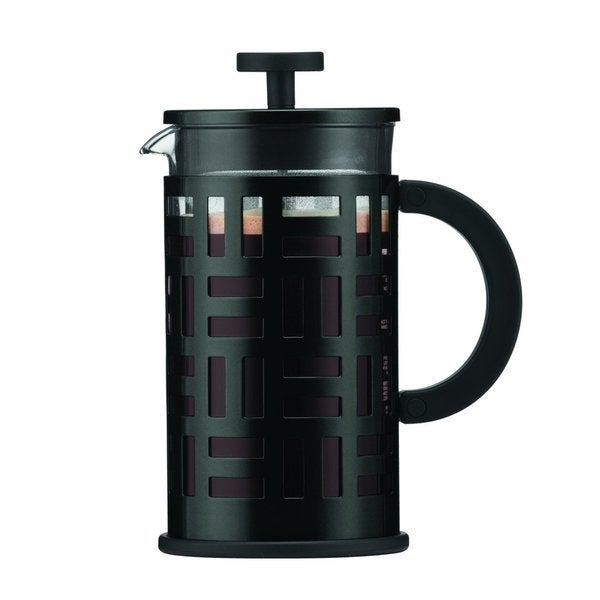Bodum 11195-01 Eileen 8-Cup Black French Press Coffee Maker