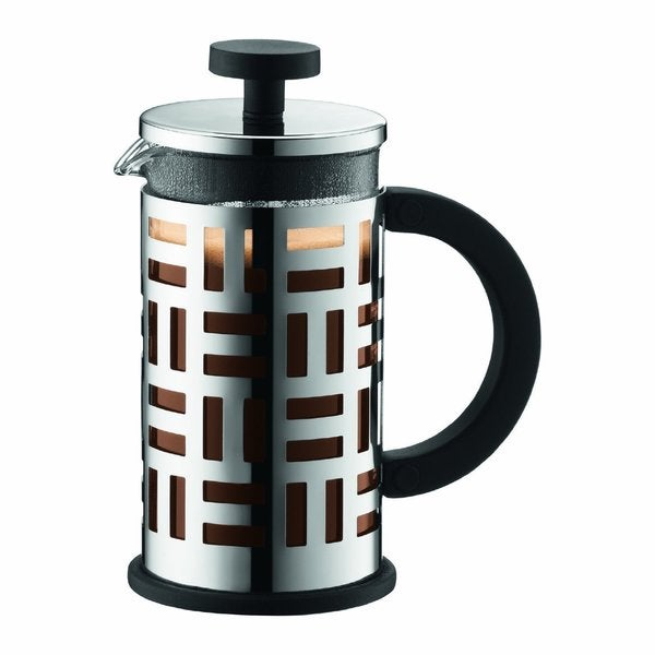 Bodum 11198-16 Eileen Chrome 12 Ounce French Press Coffee Maker