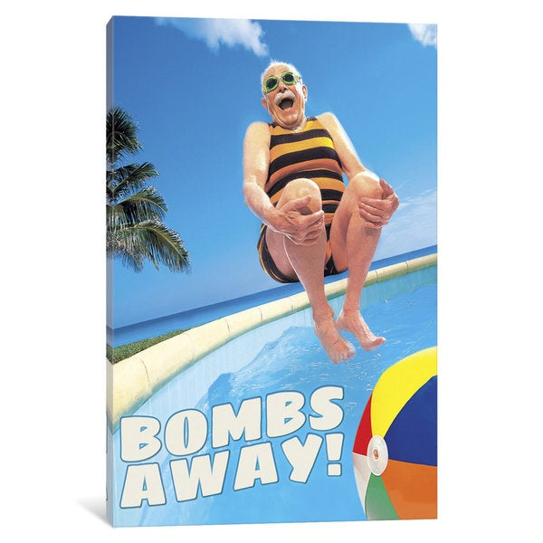 iCanvas 'Bombs Away' by Avanti Canvas Print