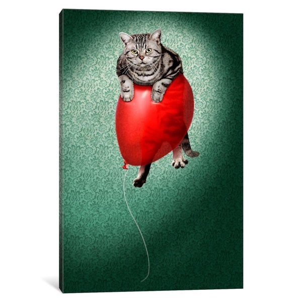 iCanvas 'Up, Up and Away' by Avanti Canvas Print
