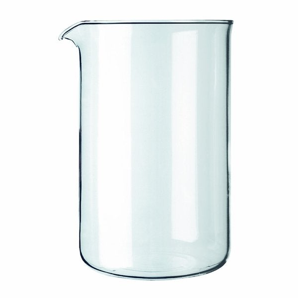 Bodum 1512-10 Replacement 12 Cup Spare Glass for Coffee Press 18025731