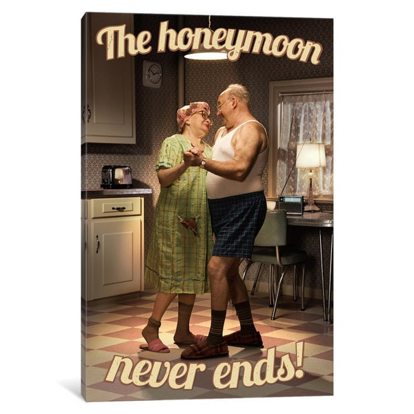 iCanvas 'Honeymoon Never Ends' by Avanti Canvas Print