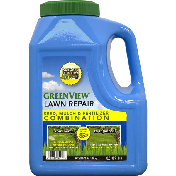 Lawn Repair Seed/ Mulch and Fertilizer Combination
