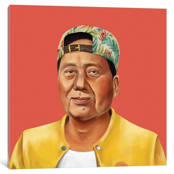 iCanvas 'Mao Zedong' by Amit Shimoni Canvas Print