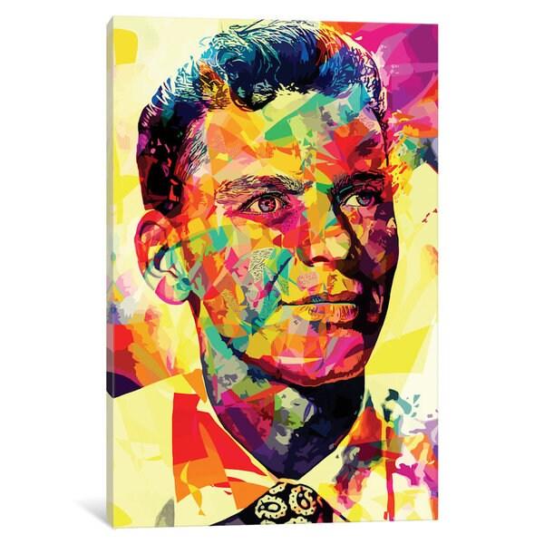 iCanvas 'Sinatra' by Alessandro Pautasso Canvas Print
